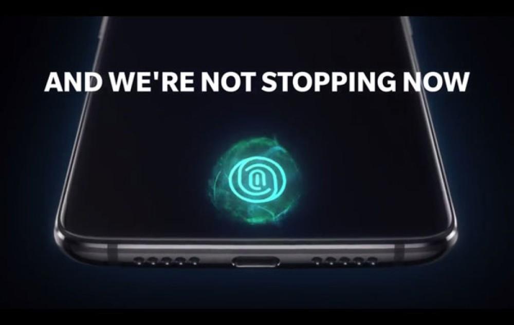 OnePlus 6T: Νέο επίσημο teaser επιβεβαιώνει τον in-display αισθητήρα δακτυλικών αποτυπωμάτων [Video]