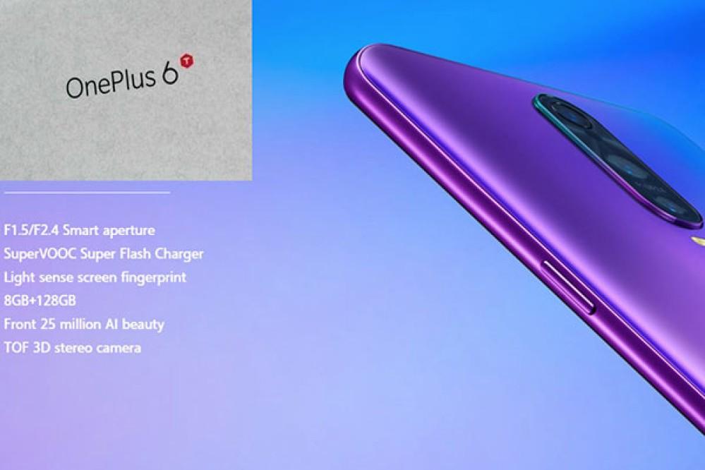 OnePlus 6T: Διέρρευσε το κουτί της συσκευής, τεχνικά χαρακτηριστικά και teaser για την ημερομηνία παρουσίασης!