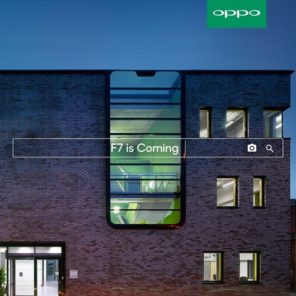 Oppo F7: Έρχεται σύντομα με οθόνη 6.23'' FHD+, Helio P60, 6GB RAM και selfie κάμερα 25MP