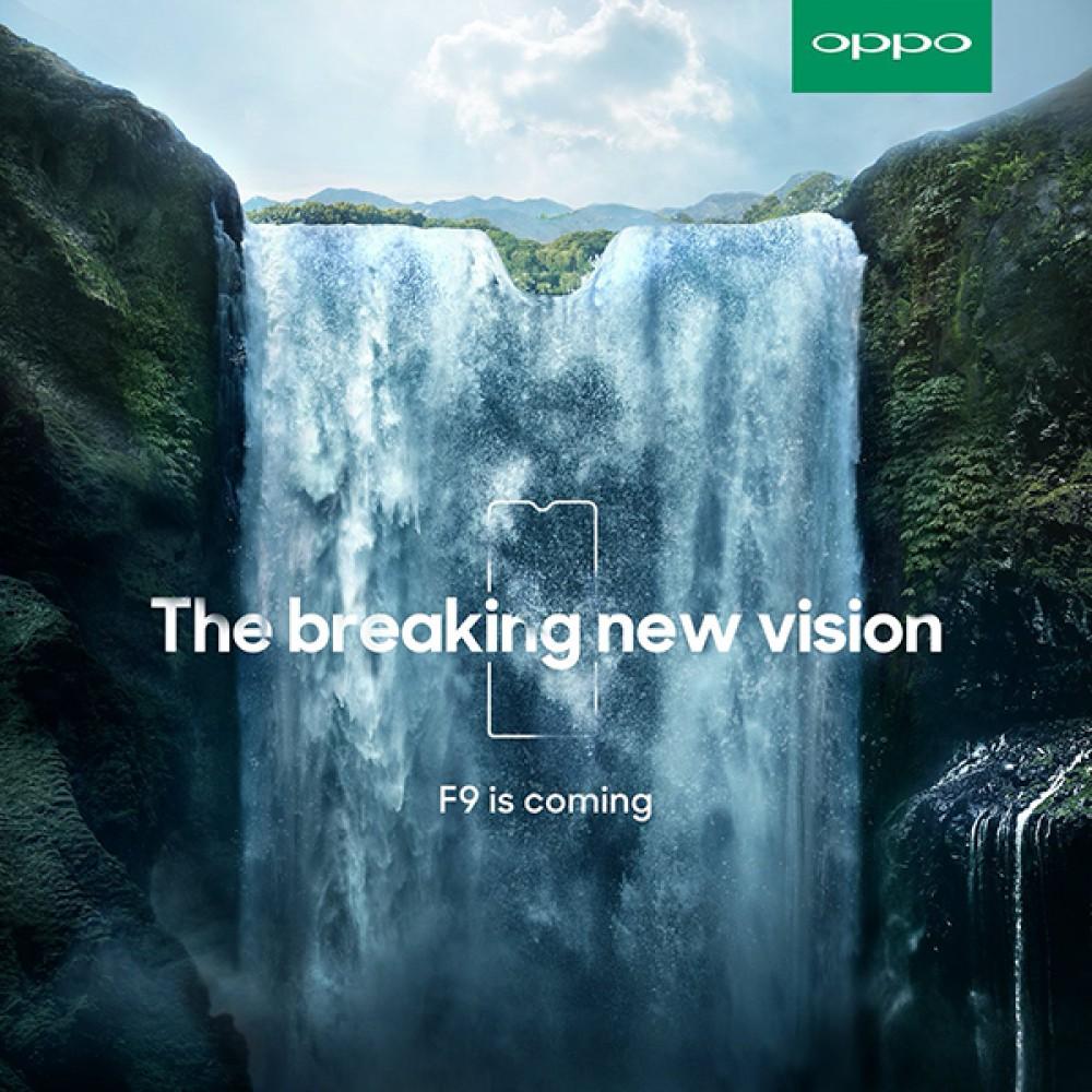 Oppo F9: Έρχεται σύντομα με οθόνη στο 90.8% της πρόσοψης και notch-σταγόνα