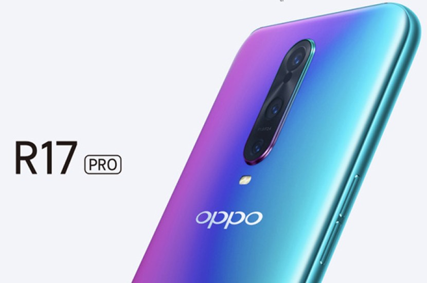 Oppo R17 Pro: Επίσημα με οθόνη 6.4'' AMOLED, Snapdragon 710, in-display scanner, τριπλή κάμερα και διπλή μπαταρία