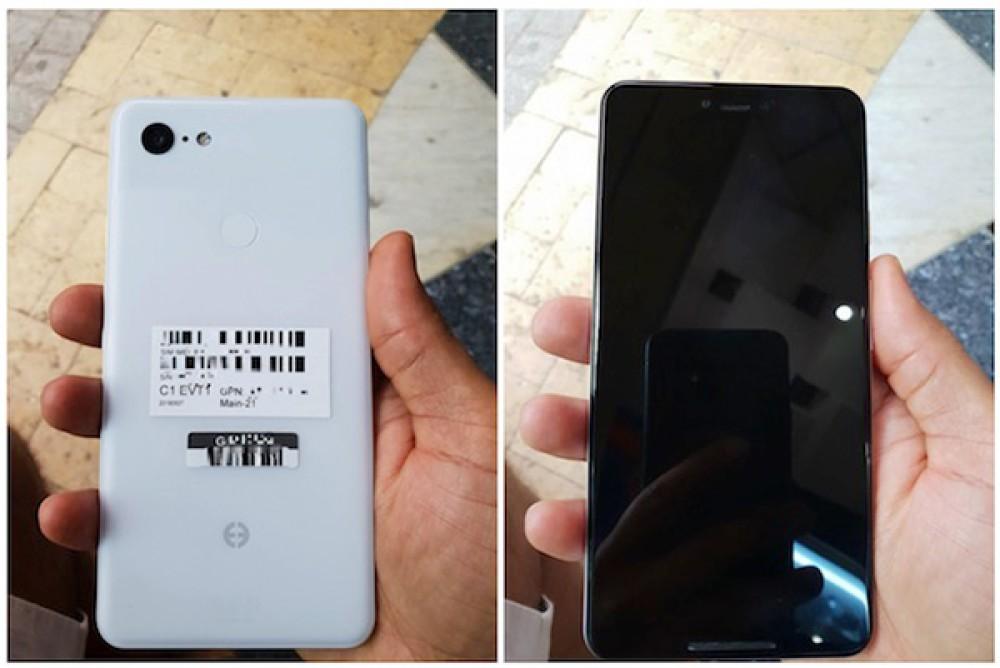 """Pixel 3 XL: Διέρρευσαν φωτογραφίες της """"Clearly White"""" έκδοσης και αποκαλύπτουν....notch"""