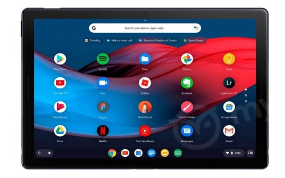 Pixel Slate: Νέες καθαρές εικόνες για το πρώτο Chrome OS tablet της Google