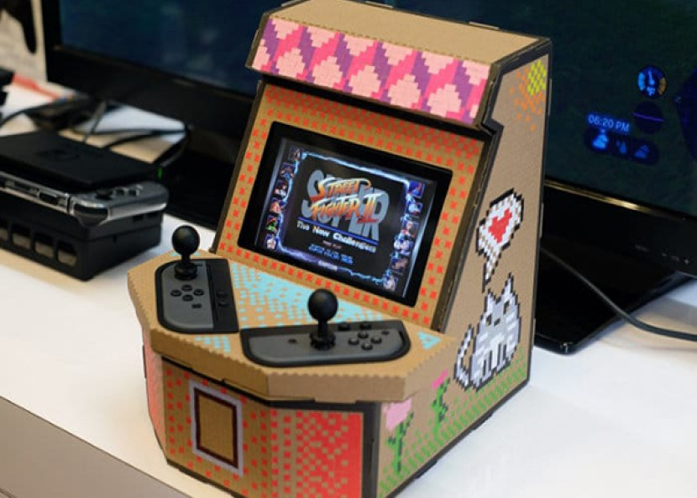 PixelQuest Arcade Kit για να μετατρέψεις το Nintendo Switch σε arcade μηχάνημα με μόλις $20 [Video]
