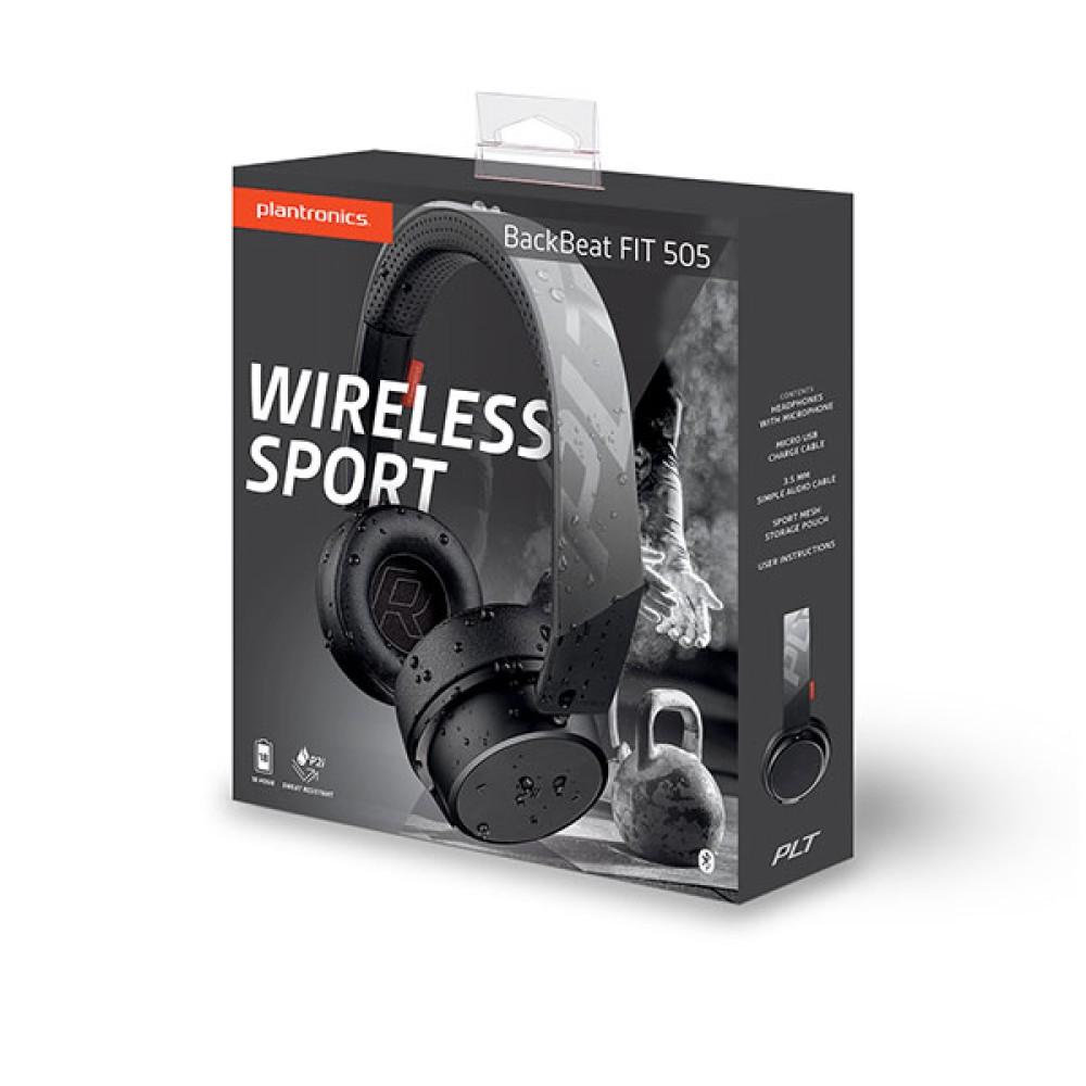 Plantronics BACKBEAT FIT 500 SERIES Stereo Bluetooth Headphones: Σχεδιασμένα για χρήση εν κινήσει