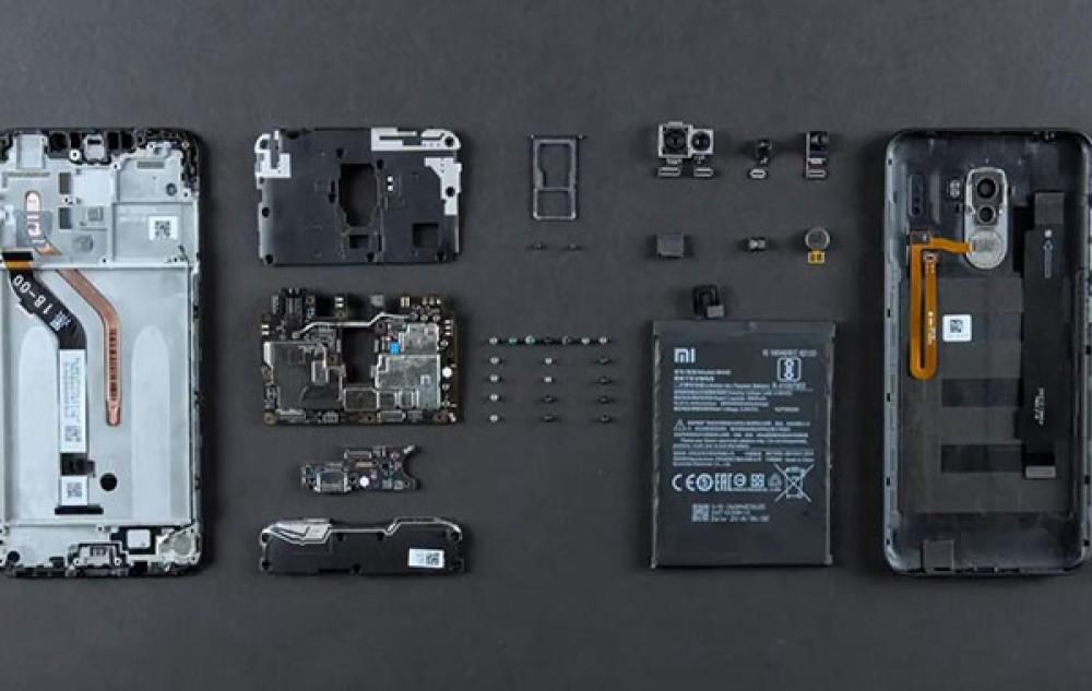 Xiaomi POCOPHONE F1: Το πρώτο χειρουργείο αποκαλύπτει το σύστημα υδρόψυξης και εύκολη επισκευή [Video]