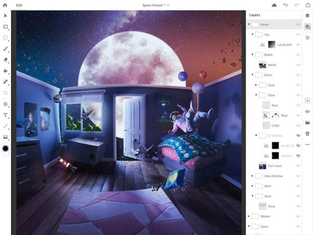 Η Adobe ανακοινώνει και επίσημα το Photoshop CC για το iPad