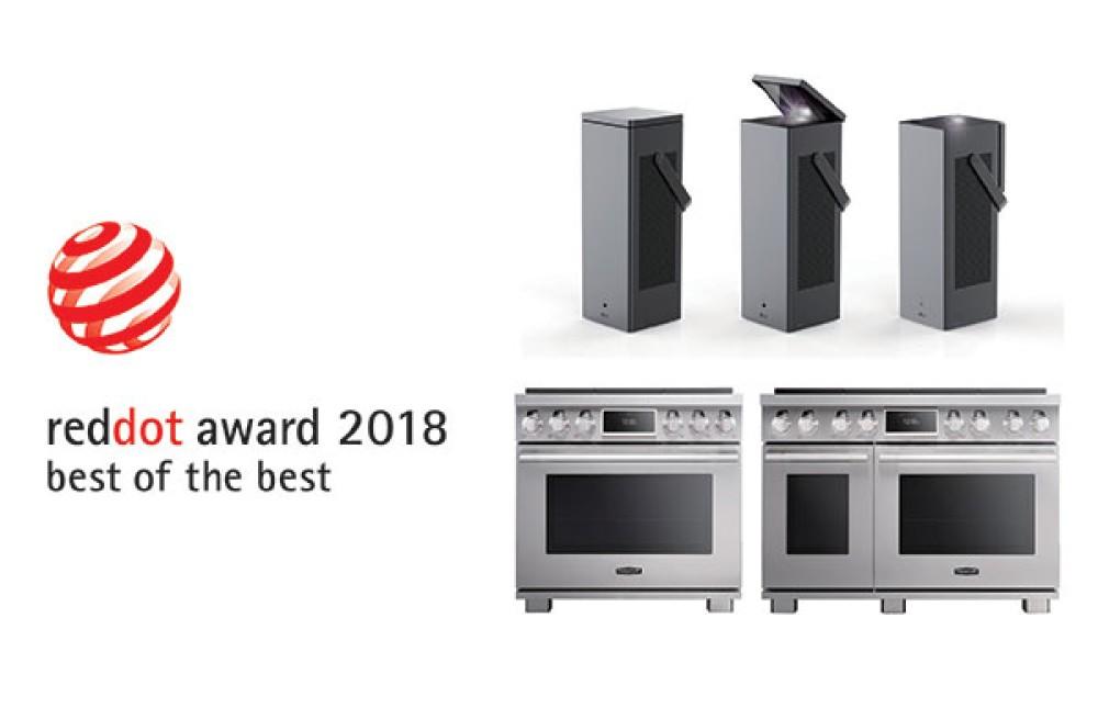 2018 Red Dot Awards: 21 τιμητικές διακρίσεις στα φετινά βραβεία για την LG