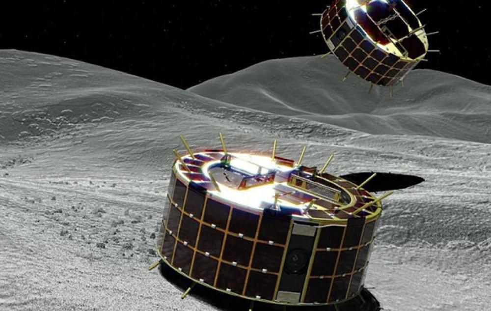 Η Ιαπωνία κατάφερε να προσεδαφίσει δύο rovers στον αστεροειδή Ryugu σε απόσταση 320 εκατ. χιλιομέτρων από τη Γη