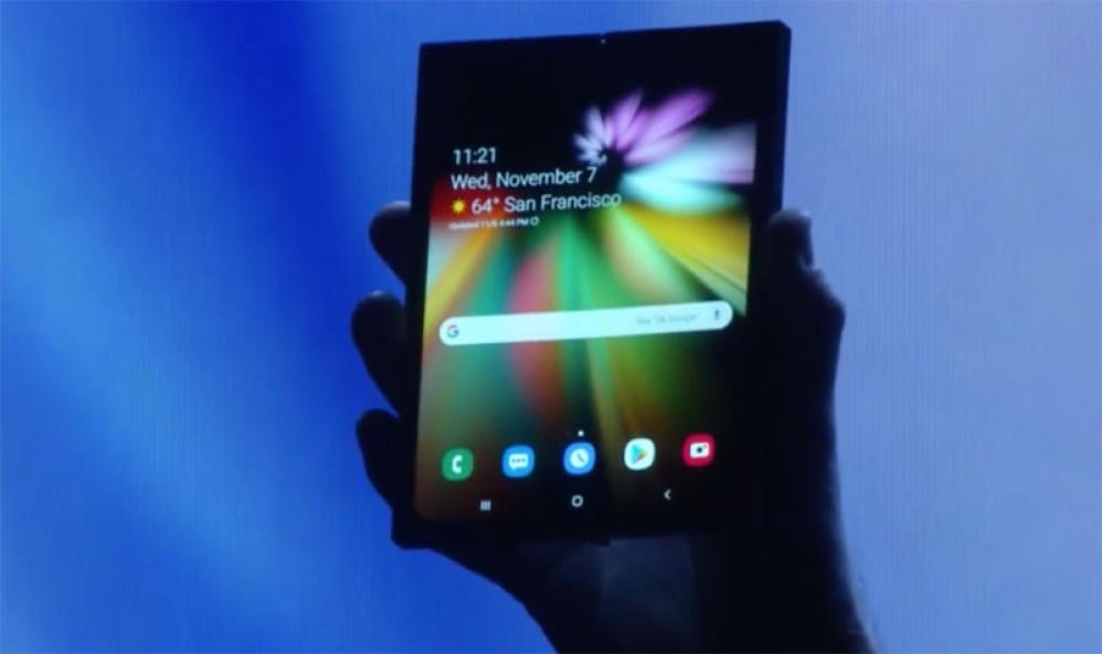 Η Samsung έδειξε το αναδιπλώμενο smartphone με αφορμή την παρουσίαση της Infinity Flex Display και του One UI!