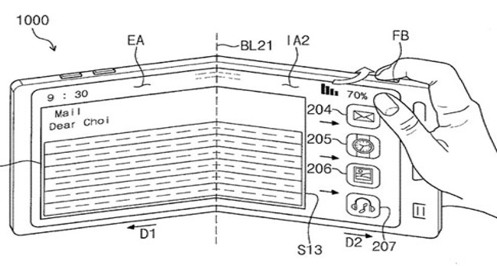 Samsung Galaxy X: Πιθανή η χρήση τριών οθονών OLED 3.5'' για το αναδιπλώμενο smartphone