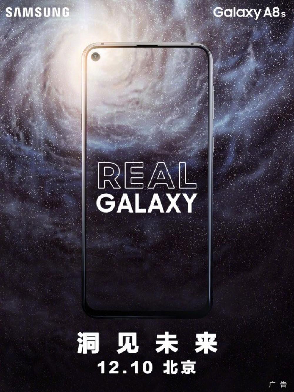 Samsung Galaxy A8s: Αυτό θα είναι τελικά το πρώτο smartphone με οπή στην οθόνη!