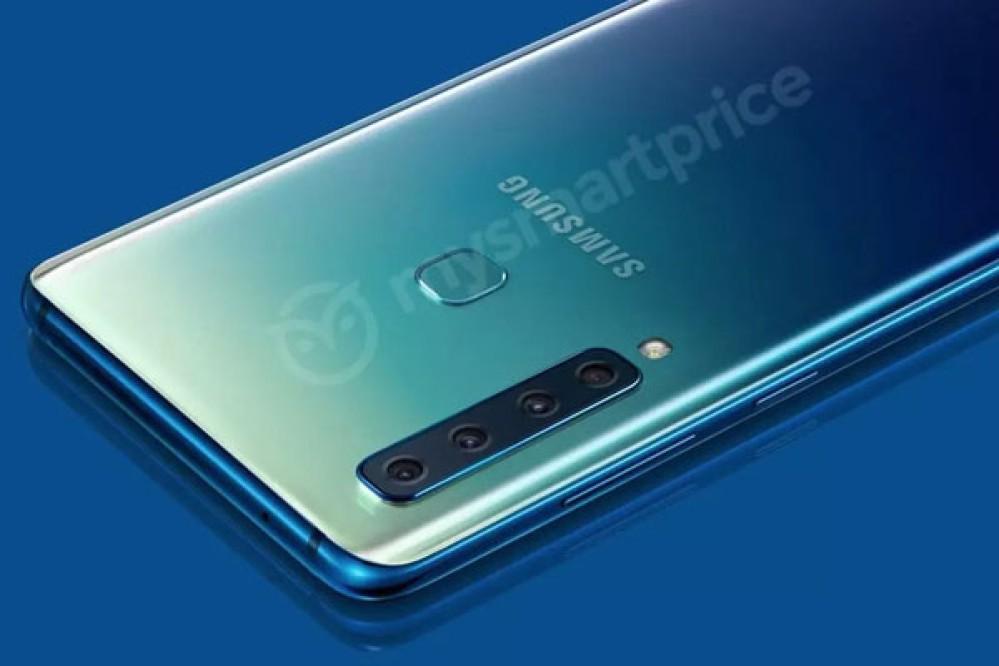 Samsung Galaxy A9s: Αυτή λέγεται ότι είναι η πρώτη φωτογραφία του πρώτου smartphone με τετραπλή κάμερα στο πίσω μέρος