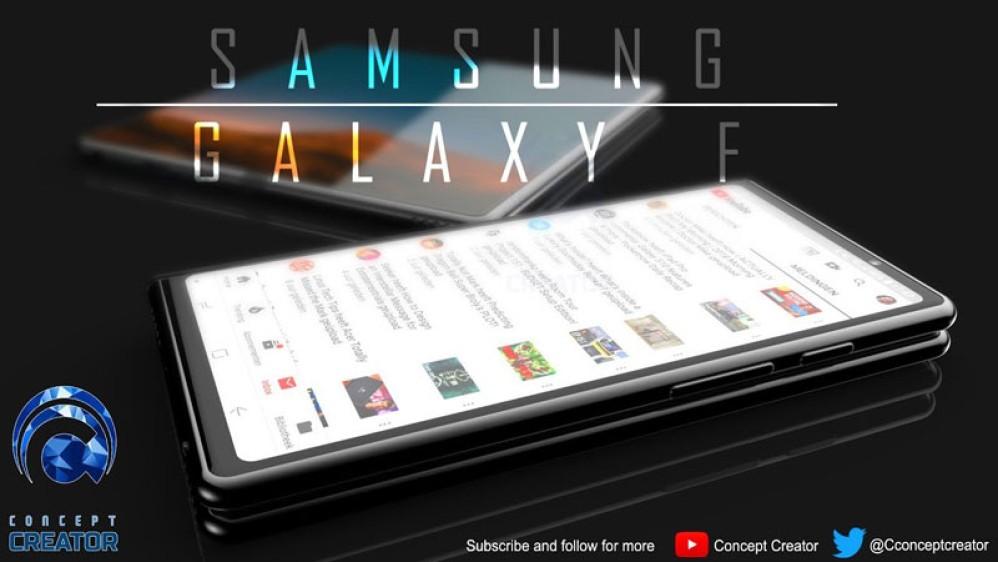 Samsung Galaxy F: Ένα πολύ ενδιαφέρον concept για το αναδιπλώμενο smartphone