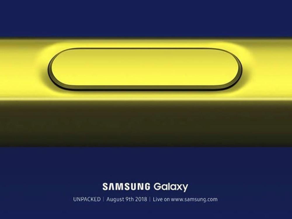 Samsung Galaxy Note9: Επίσημη παρουσίαση στις 9 Αυγούστου! [Video]