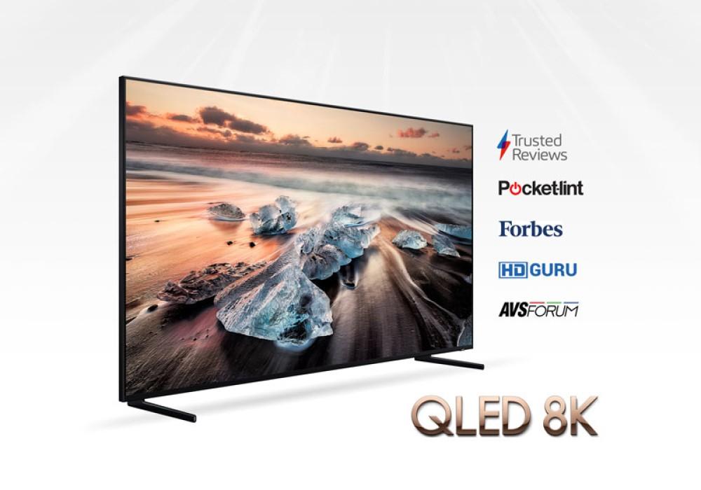 Samsung QLED 8K TV: Διθυραμβικές κριτικές για την ποιότητα εικόνας και την τεχνολογία 8K AI Upscaling