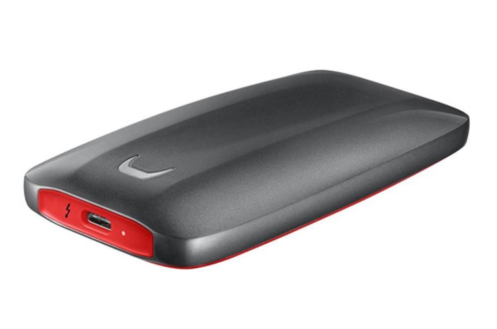 Samsung Portable X5 SSD: Νέος θωρακισμένος φορητός SSD με Thunderbolt 3 για μεταφορά 20GB σε 12 sec!