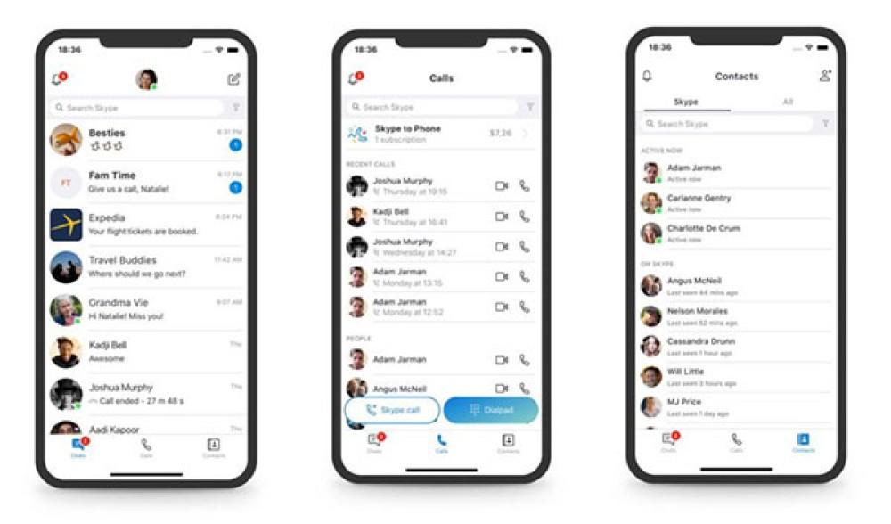 Η Microsoft επανασχεδιάζει (ξανά) το Skype με γνώμονα την επιστροφή στην απλότητα [Pics]