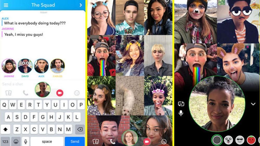 Snapchat: Προσθέτει δυνατότητα ομαδικών video κλήσεων και περιμένουμε το ίδιο από το....Instagram