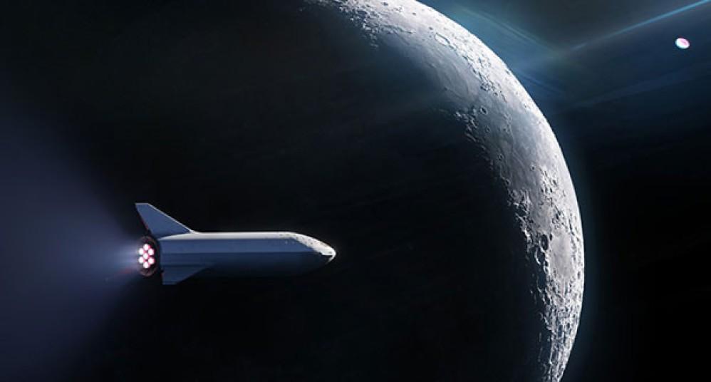SpaceX: Θα στείλει τον πρώτο άνθρωπο σε ιδιωτικό ταξίδι στη Σελήνη με το σκάφος BFR [Video]