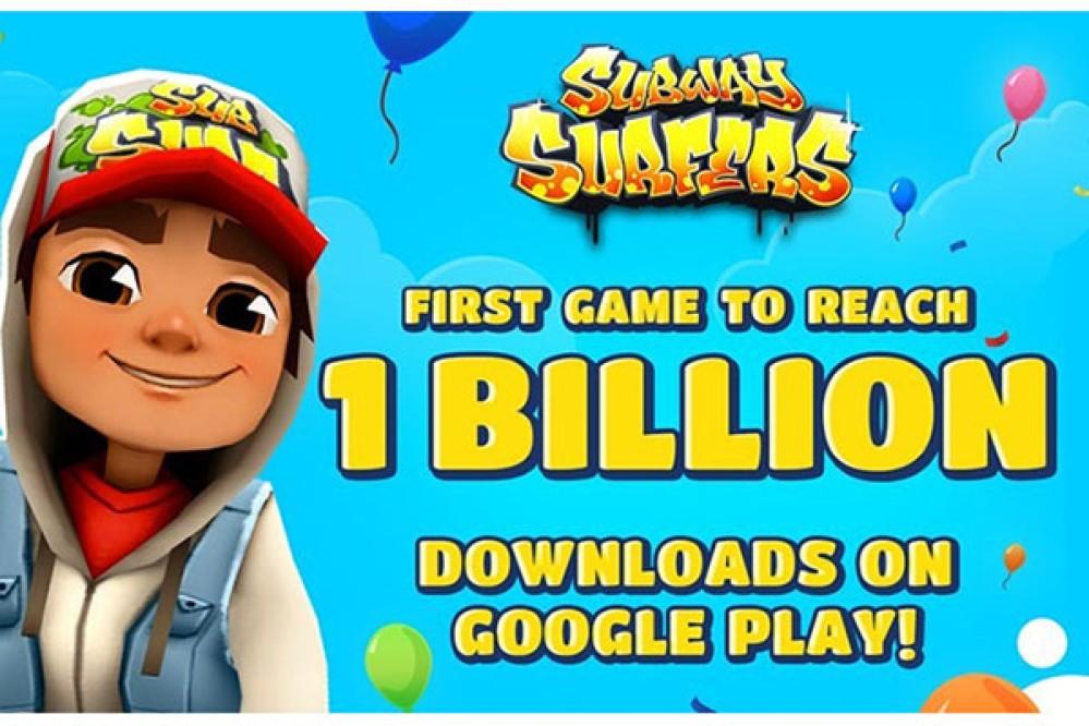 Subway Surfers: Το πρώτο mobile παιχνίδι στον κόσμο που ξεπερνά το 1 δισ. downloads!