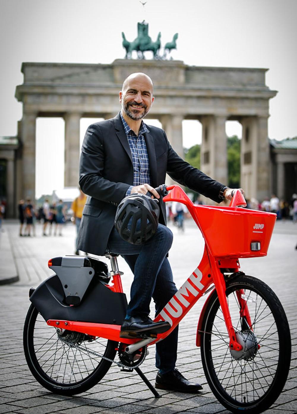 Uber JUMP: Η υπηρεσία bike-sharing λανσάρεται και στην Ευρώπη