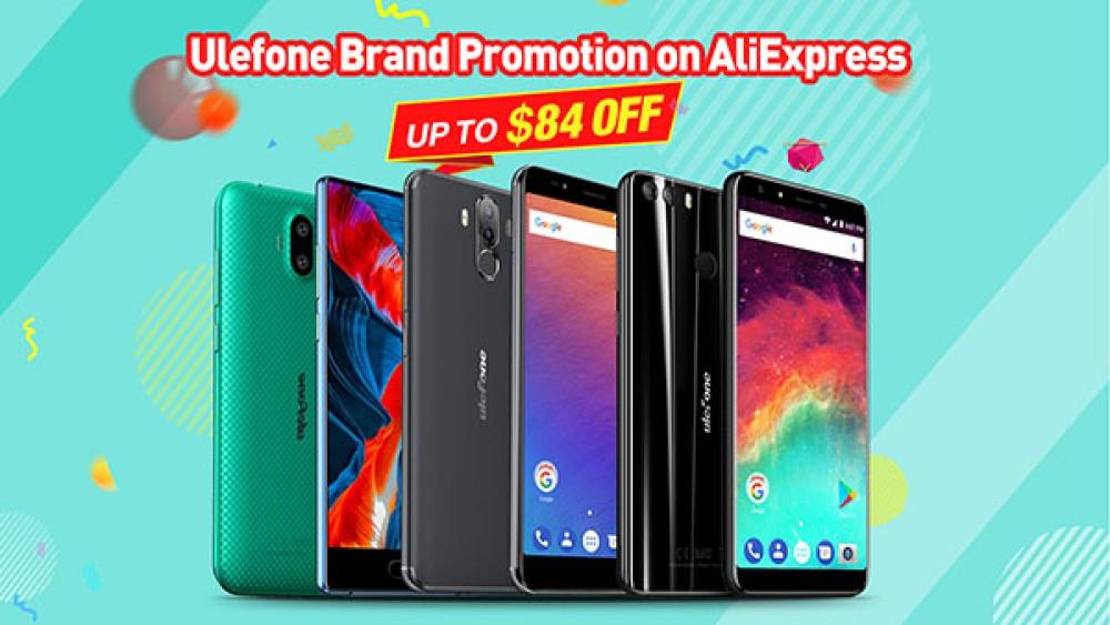 Σπουδαίες εκπτώσεις στα smartphones της Ulefone από το Aliexpress