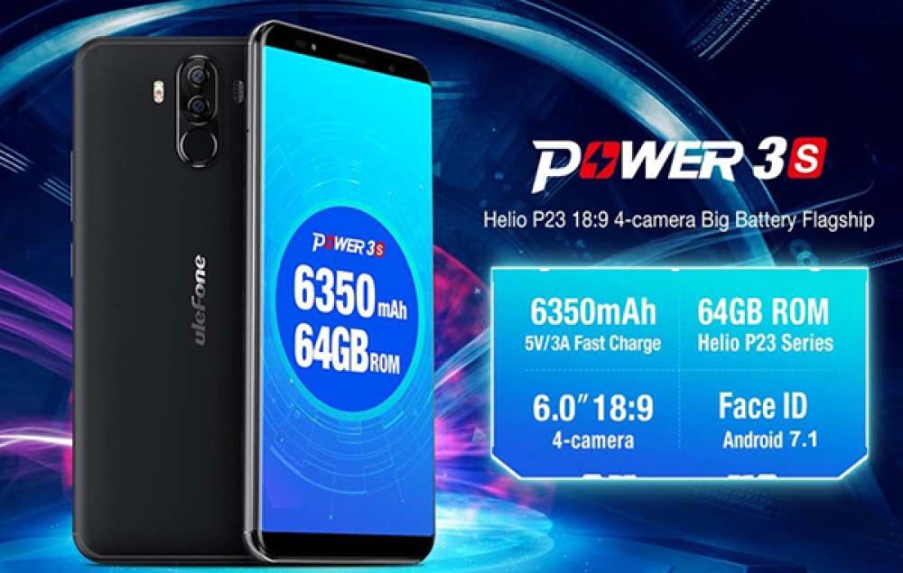 Ulefone Power 3S: Το αξιόλογο smartphone με μπαταρία 6350mAh από Ευρωπαϊκή αποθήκη σε πολύ καλή τιμή