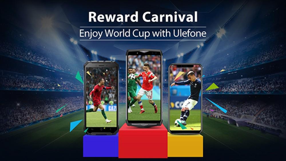 Παγκόσμιο Κύπελλο με εκπτώσεις και πολλά δώρα από την Ulefone