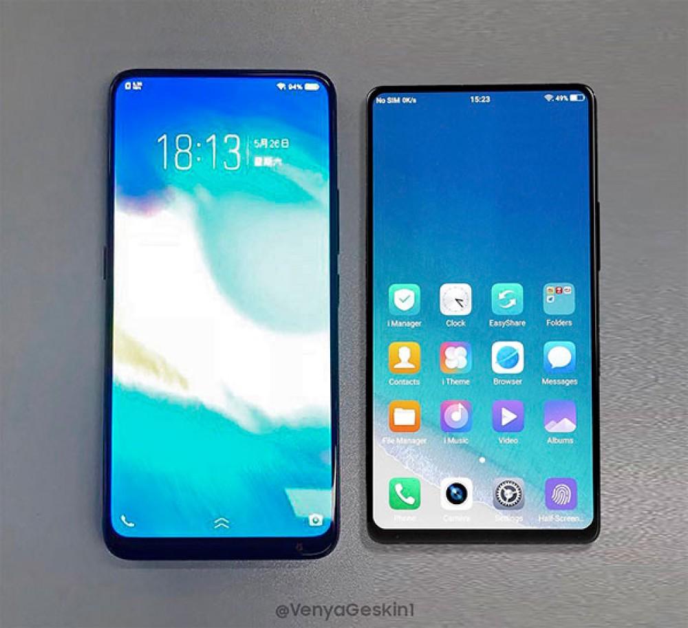 Vivo NEX: Το νέο σχεδόν all-sreen smartphone της εταιρείας δίπλα στο εντυπωσιακό Vivo APEX