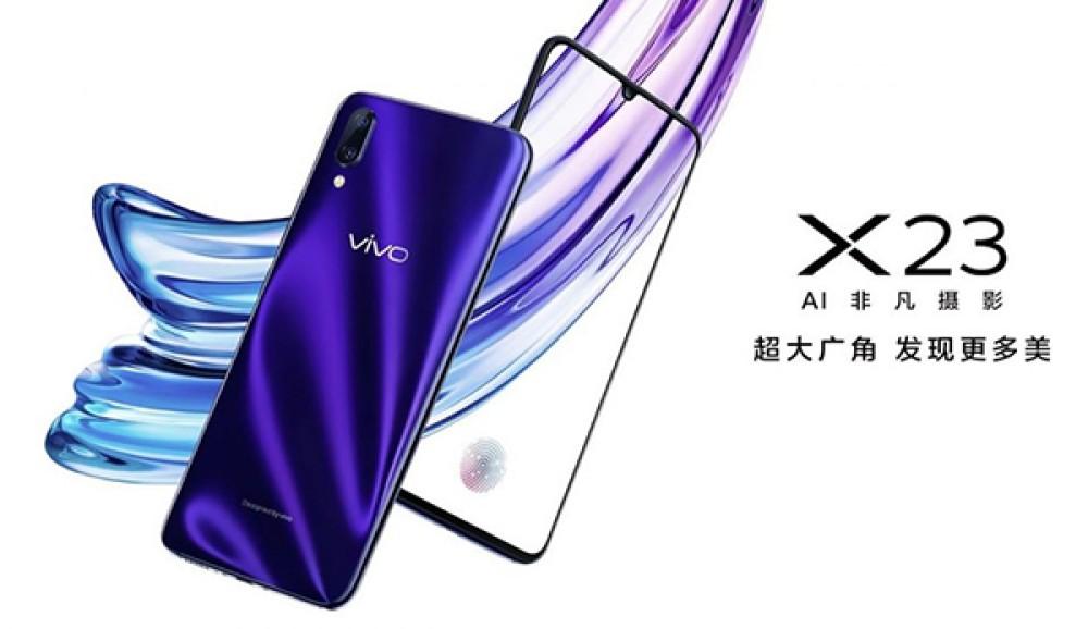 Vivo X23: Νέο smartphone με notch-σταγόνα και αισθητήρα δακτυλικών αποτυπωμάτων κάτω από την οθόνη