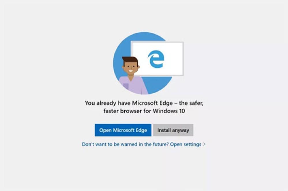 Η Microsoft θα σε προειδοποιεί όταν πας να εγκαταστήσεις τον Chrome ή τον Firefox browser
