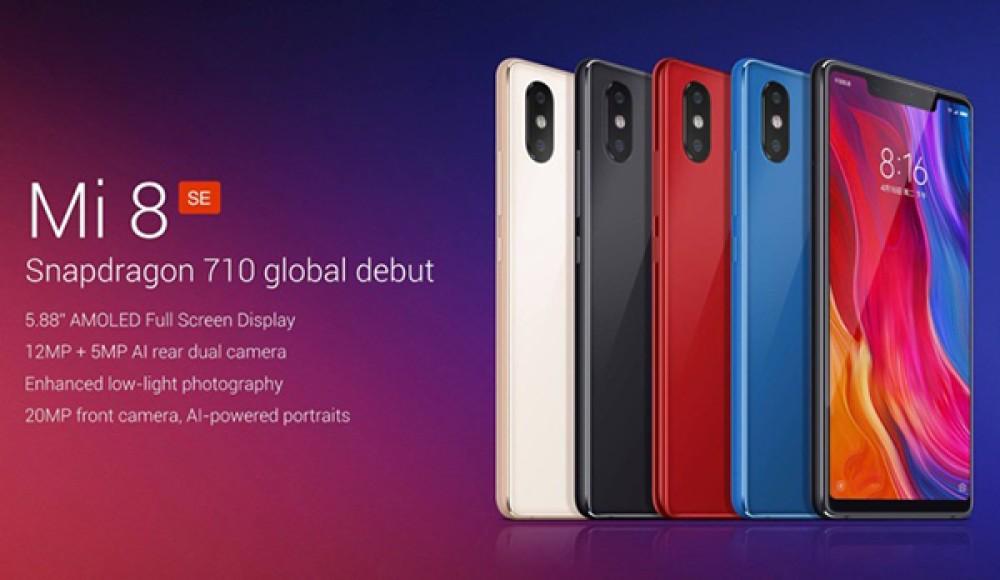 Xiaomi Mi 8 SE: Επίσημα με οθόνη AMOLED 5.88'' FHD+ με notch, Snapdragon 710, dual κάμερα και τιμή από €240!