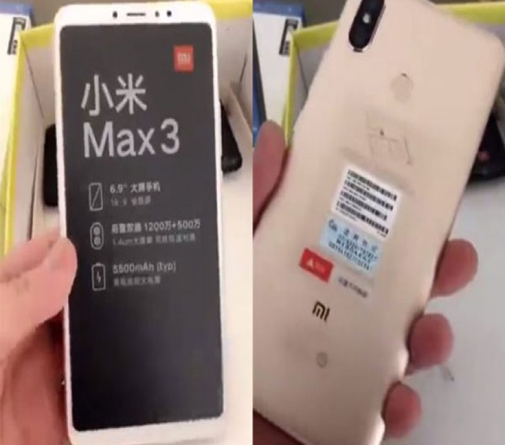 Xiaomi Mi Max 3: Αποκάλυψη των τεχνικών χαρακτηριστικών από τον πρόεδρο της εταιρείας