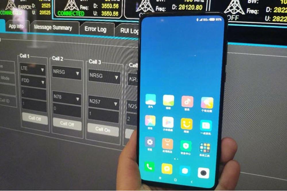 Xiaomi Mi MIX 3: Νέα φωτογραφία από τον CEO της εταιρείας μας δείχνει το all-screen smartphone σε δίκτυο 5G! [Update]