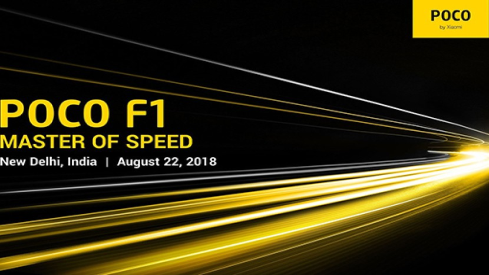 Xiaomi Pocophone F1: Επίσημη παρουσίαση στις 22 Αυγούστου για το φθηνότερο smartphone με Snapdragon 845