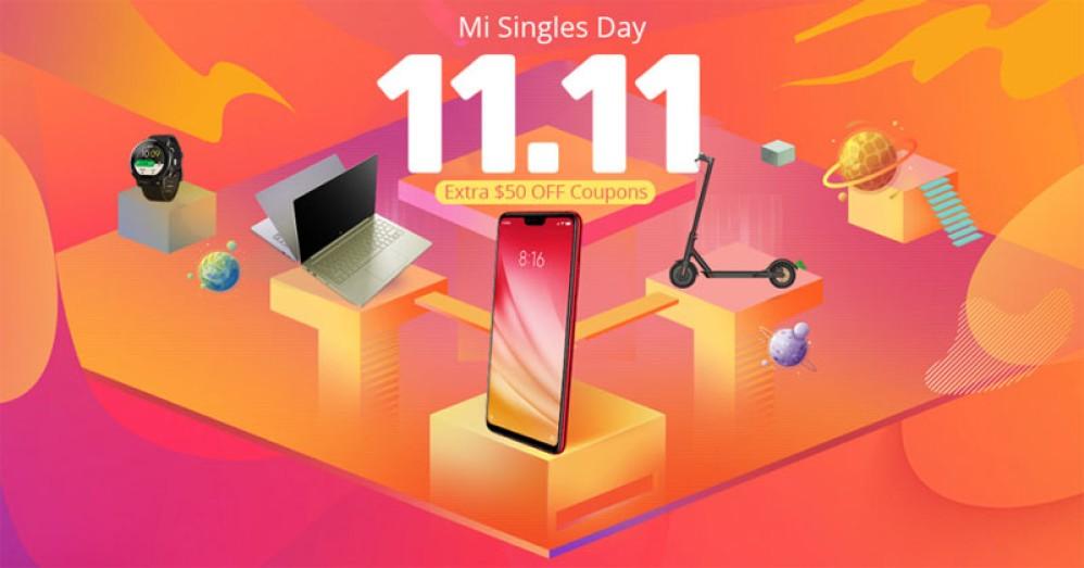 Ακόμα μεγαλύτερες εκπτώσεις για τη Singles Day στο Geekbuying
