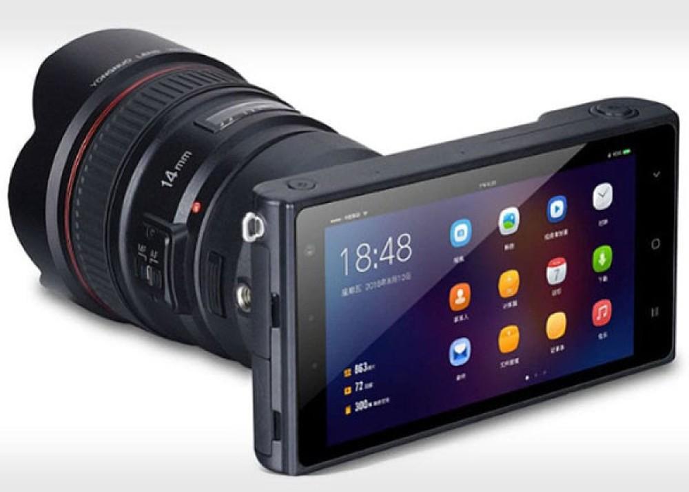 Yongnuo YN450: Ένα Android smartphone που δέχεται φακούς κάμερας DSLR!