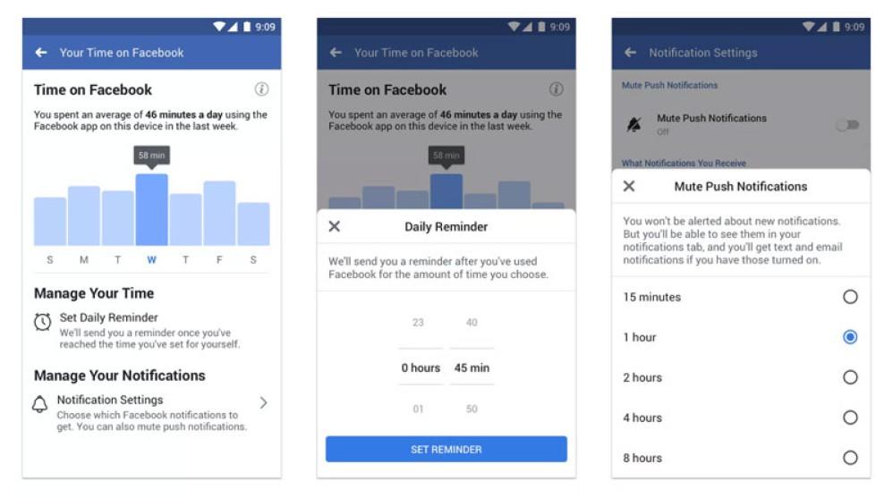 Facebook και Instagram λανσάρουν εργαλεία για την καλή ψηφιακή ζωή