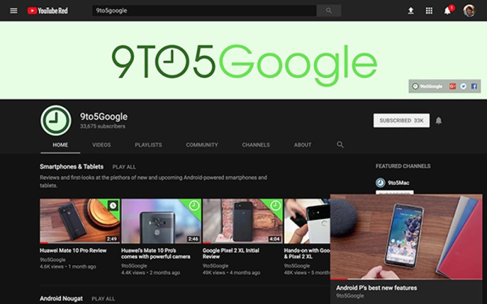 YouTube: Δοκιμάζει τη λειτουργία picture-in-picture και στη web έκδοση για να βλέπεις video και να συνεχίζεις την πλοήγηση στην υπηρεσία