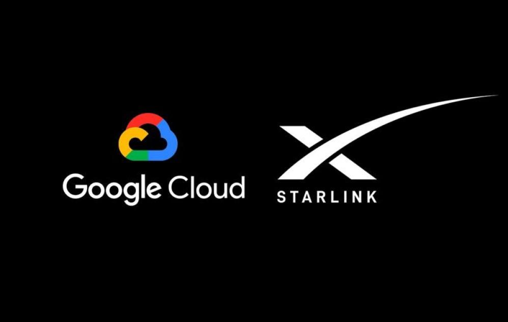 Google και SpaceX φέρνουν το Starlink στα cloud data centers