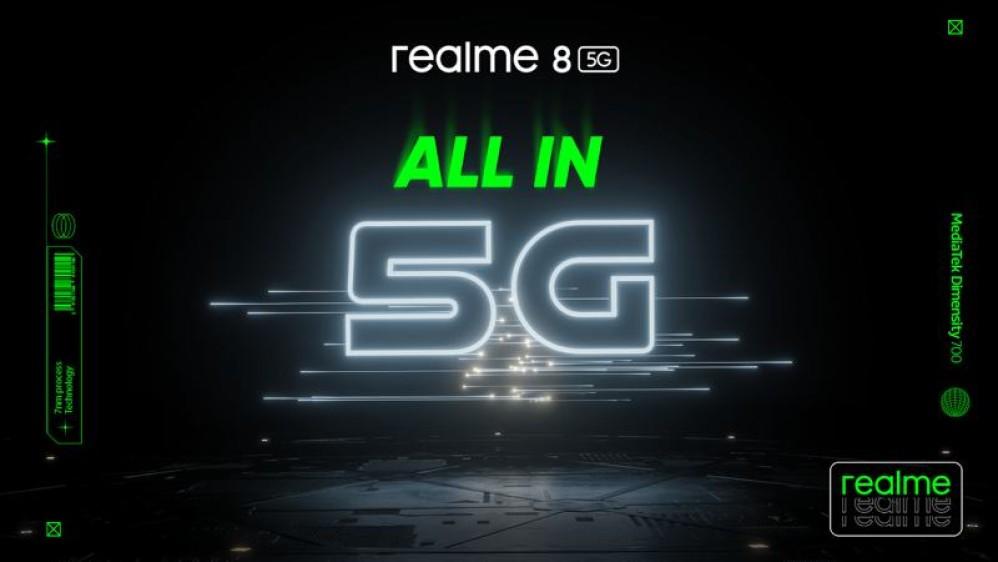 realme 8 5G: Με 5G επεξεργαστή και δυναμικό σχεδιασμό