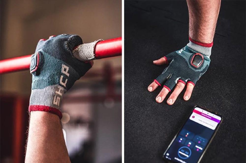 Shape Care: Έξυπνα γάντια γυμναστικής αντί για fitness band