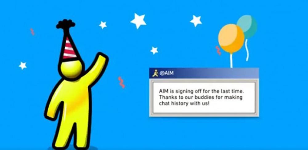 Τέλος εποχής για τον AOL Instant Messenger (AIM) μετά από 20 χρόνια