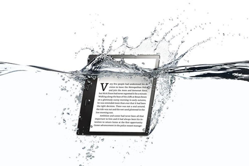 Amazon Kindle Oasis: Νέα έκδοση με μεγαλύτερη οθόνη, περισσότερο αποθηκευτικό χώρο και αδιάβροχη κατασκευή