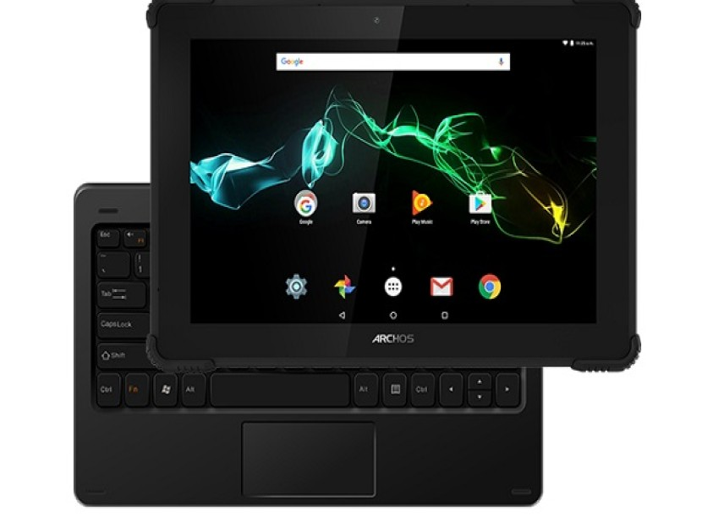 Archos 101 Saphir: Νέο θωρακισμένο tablet με Android 7.0 Nougat και βάση-πληκτρολόγιο