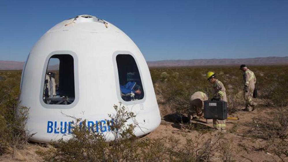 Έτσι θα είναι το ταξίδι στα όρια της ατμόσφαιρας με την Blue Origin του Jeff Bezos [Video]