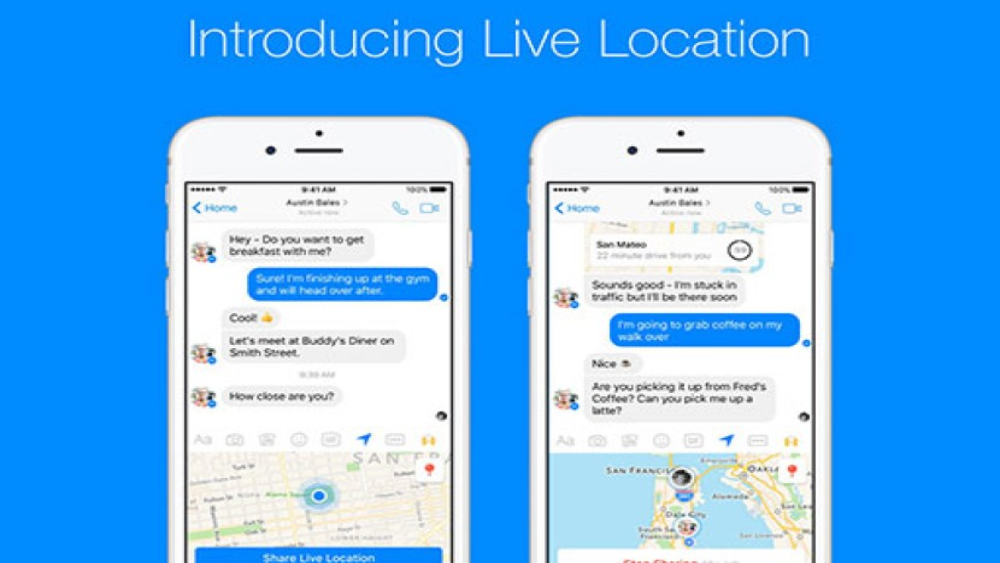 Live Location: Τώρα μπορείς να δείχνεις στους φίλους σου που βρίσκεσαι μέσα από το Facebook Messenger [Video]