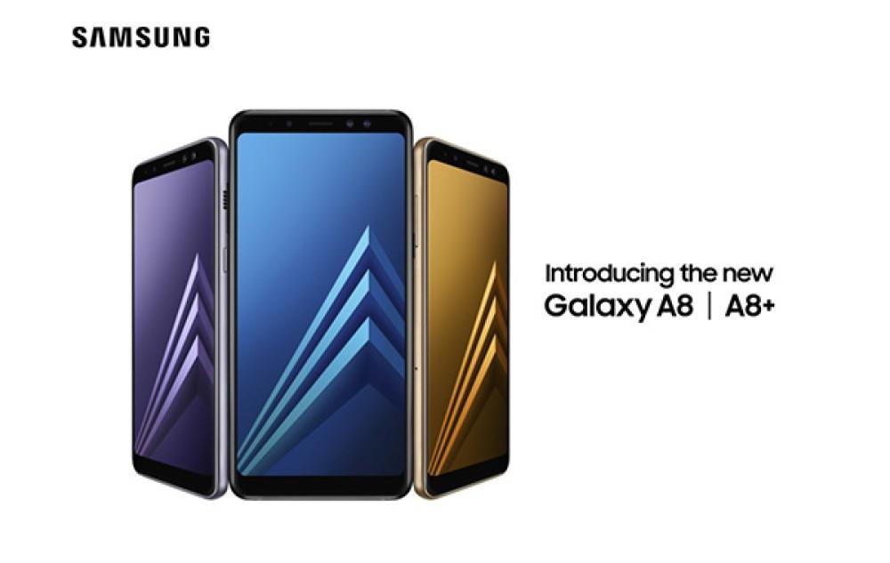 Samsung Galaxy A8/A8+ (2018): Επίσημα με οθόνες Infinity Display, dual selfie κάμερα και αδιάβροχη κατασκευή