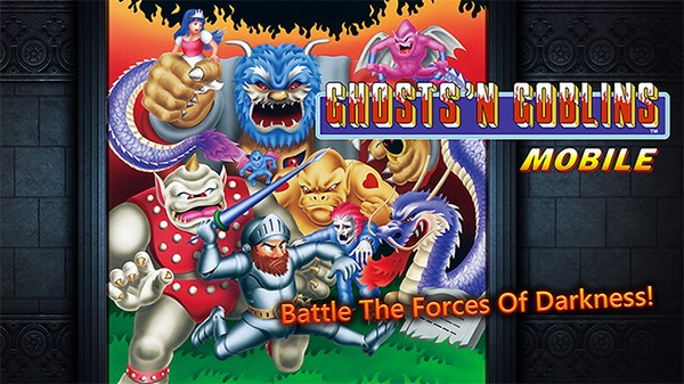 Ghosts 'n' Goblins: Διαθέσιμο το ανελέητο platform για συσκευές Android και iOS!